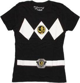 Power Rangers Black Baby Tee