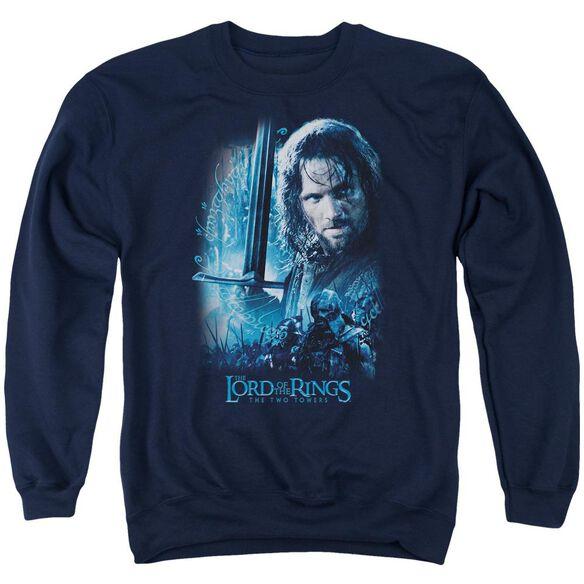 Lor King In The Making Adult Crewneck Sweatshirt