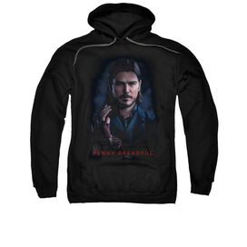 Penny Dreadful Ethan Adult Pull Over Hoodie Black