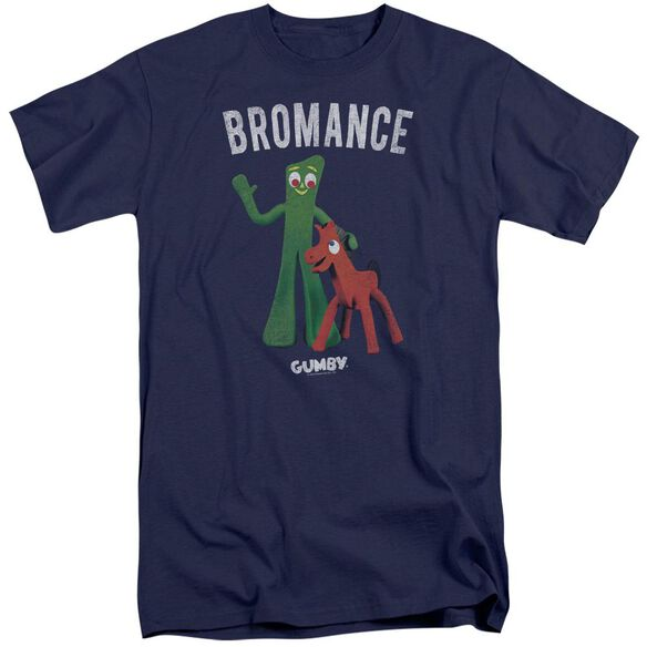 Gumby Bromance Short Sleeve Adult Tall T-Shirt