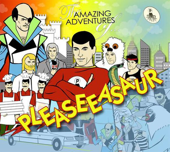 Amazing Adventures Of Pleaseeasaur (W/Dvd)