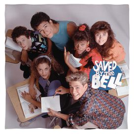 Saved By The Bell Group Shot Bandana