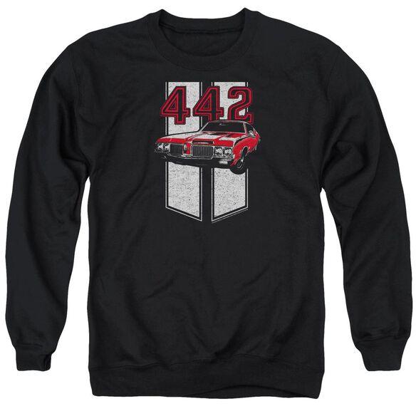 Oldsmobile 442 Adult Crewneck Sweatshirt