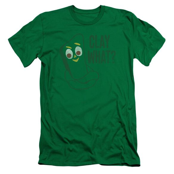 GUMBY CLAY WHAT-S/S ADULT T-Shirt