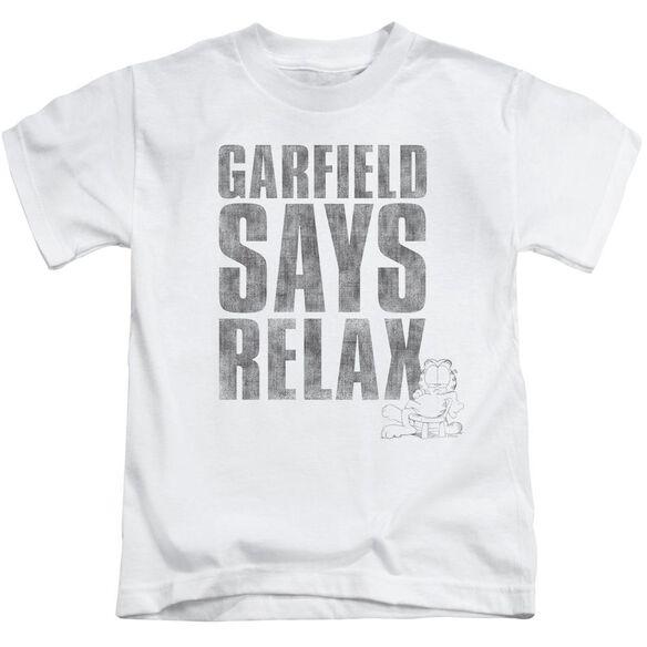 GARFIELD RELAX - S/S JUVENILE 18/1 - WHITE - T-Shirt