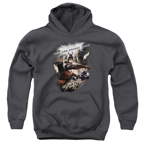 Dark Knight Rises Imagine The Fire Youth Pull Over Hoodie