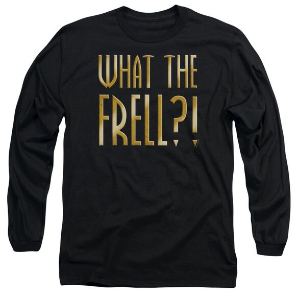 Farscape What The Frell Long Sleeve Adult T-Shirt