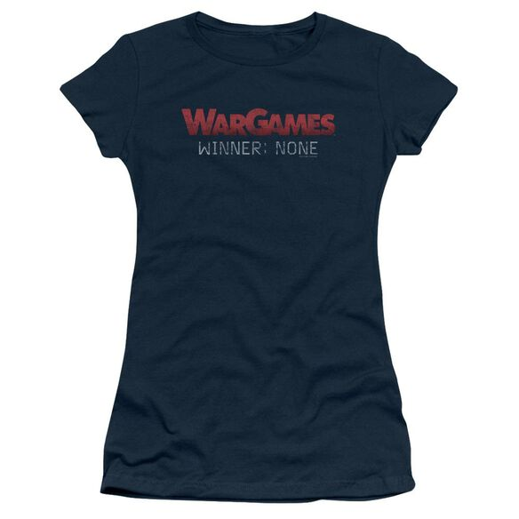 Wargames No Winners Short Sleeve Junior Sheer T-Shirt