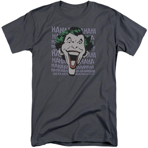 Dc Dastardly Merriment Short Sleeve Adult Tall T-Shirt
