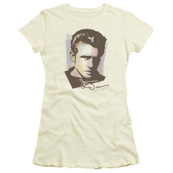 Dean Watercolor Dean Short Sleeve Junior Sheer T-Shirt