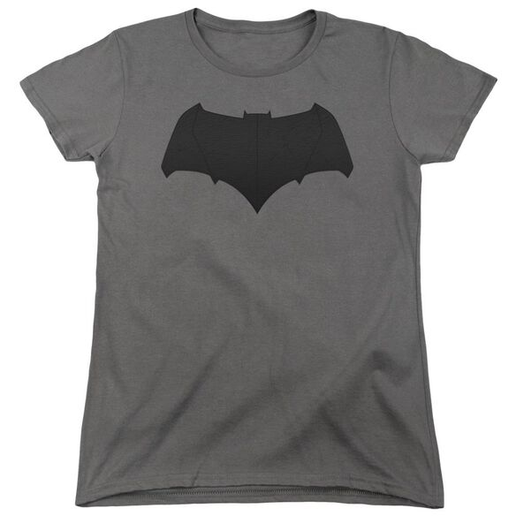 Batman V Superman Batman Logo Short Sleeve Womens Tee T-Shirt