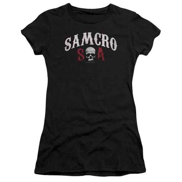 Sons Of Anarchy Samcro Forever Premium Bella Junior Sheer Jersey