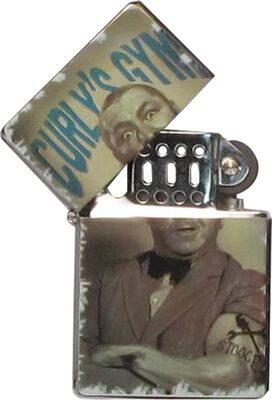 Three Stooges Curly's Gym Lighter