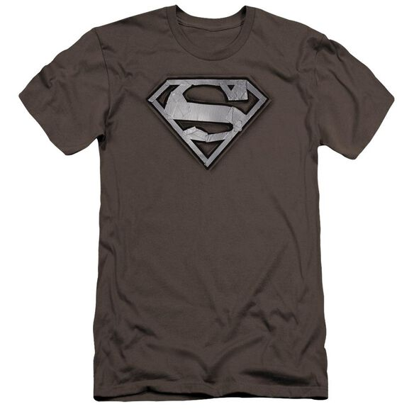 Superman Duct Tape Shield Premuim Canvas Adult Slim Fit
