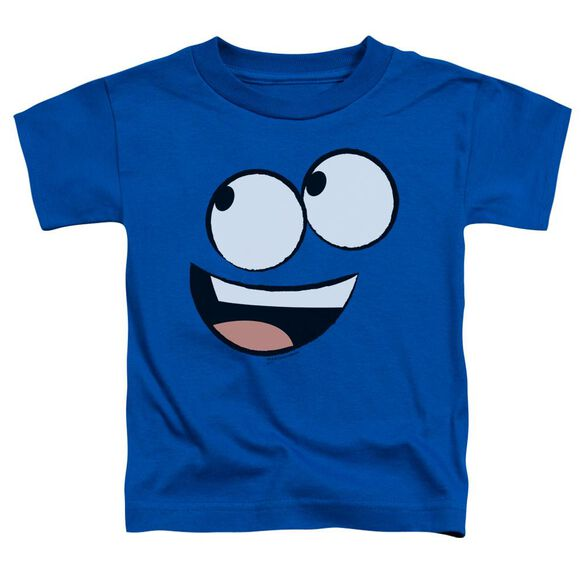 Foster's Blue Face Short Sleeve Toddler Tee Royal Blue Md T-Shirt
