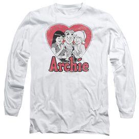 Archie Comics Milkshake Long Sleeve Adult T-Shirt