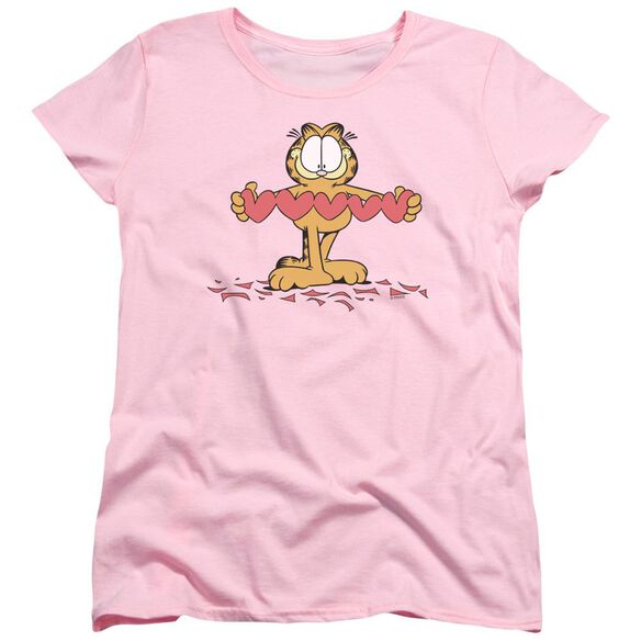 Garfield Sweetheart Short Sleeve Womens Tee T-Shirt