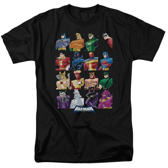 Batman Bb Cast Of Characters Short Sleeve Adult T-Shirt