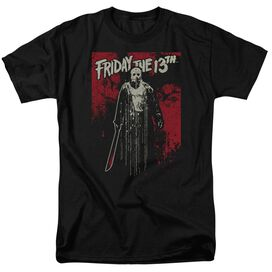 Friday The 13 Th Drip Short Sleeve Adult T-Shirt