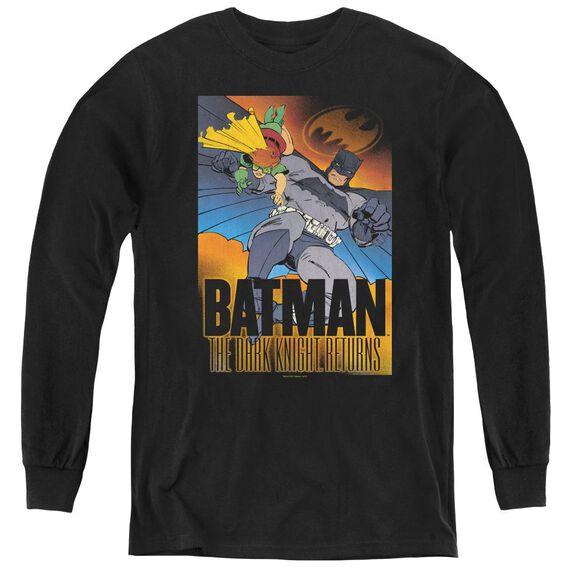 Batman Dk Returns - Youth Long Sleeve Tee - Black