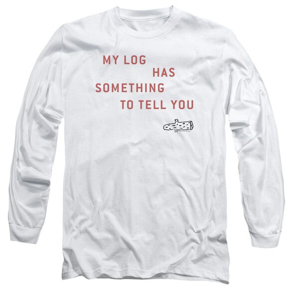 Twin Peaks My Log Long Sleeve Adult T-Shirt