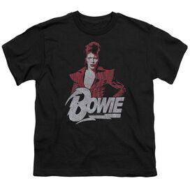 David Bowie Diamond David Short Sleeve Youth T-Shirt