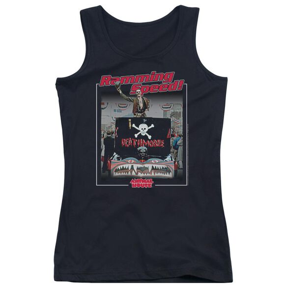 Animal House Ramming Speed Juniors Tank Top
