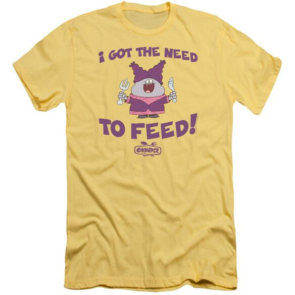 Chowder The Need Short Sleeve Adult T-Shirt