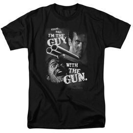 Army Of Darkness Guy With The Gun Short Sleeve Adult T-Shirt