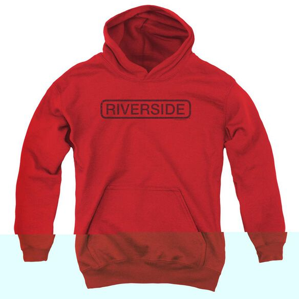 Riverside Riverside Vintage - Youth Pull - Over Hoodie - Red