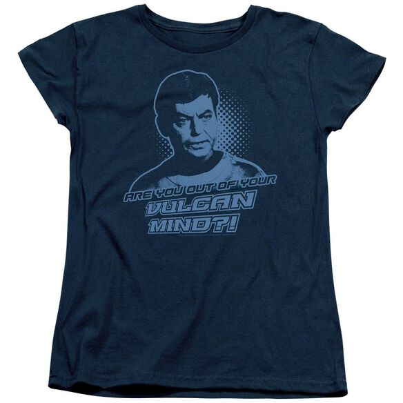 St Original Vulcan Mind Short Sleeve Womens Tee T-Shirt