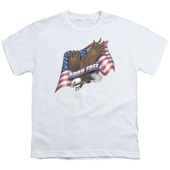 BORN FREE - YOUTH 18/1 - WHITE T-Shirt
