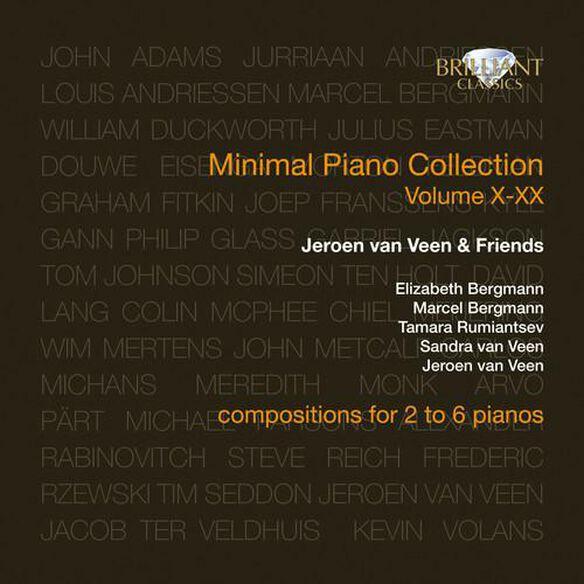 V X Xx: Minimal Piano Collection (W/Cdrom) (Box)