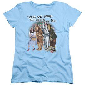 Wizard Of Oz Oh My Short Sleeve Womens Tee Light T-Shirt