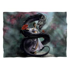 Anne Stokes Dragon Dancer Pillow Case White