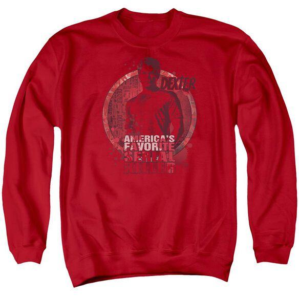 Dexter Americas Favorite Adult Crewneck Sweatshirt
