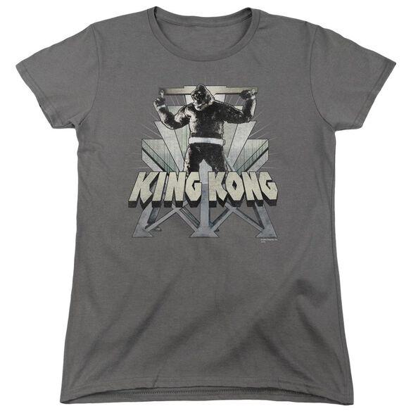 King Kong 8 Th Wonder Short Sleeve Womens Tee T-Shirt