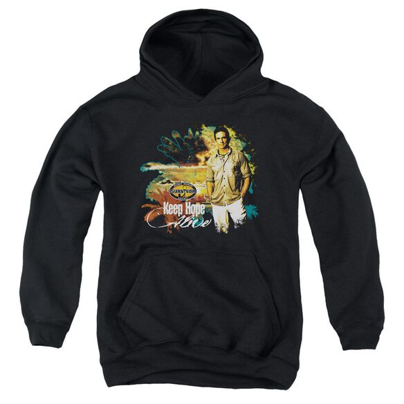 Survivor Keep Hope Alive Youth Pull Over Hoodie