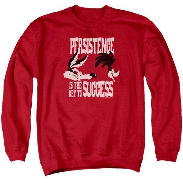 Looney Tunes Persistence Adult Crewneck Sweatshirt