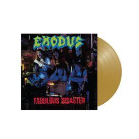 Exodus - Fabulous Disaster [Exclusive Metallic Gold Vinyl + Poster]