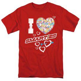 SMARTIES I HEART SMARTIES - S/S ADULT 18/1 T-Shirt