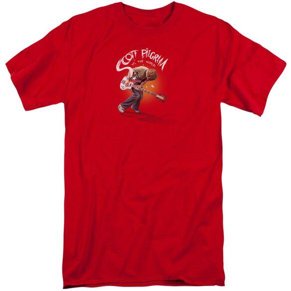 Scott Pilgrim Scott Poster Short Sleeve Adult Tall T-Shirt