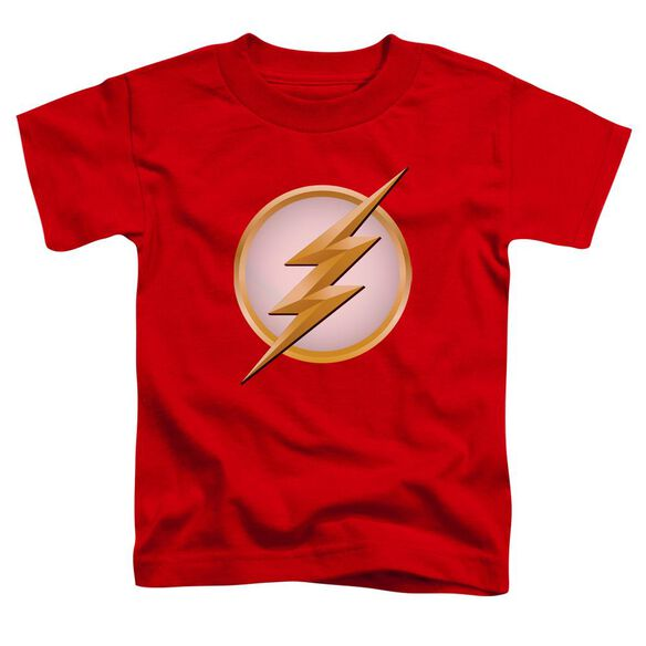 Flash New Logo Short Sleeve Toddler Tee Red T-Shirt
