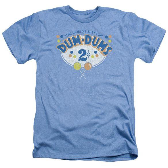 Dum Dums 2 Cents - Adult Heather - Light Blue