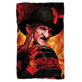 Nightmare Of Elm Street Freddy's Boiler Room Fleece Blanket