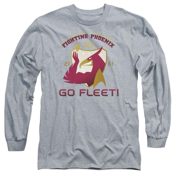 Star Trek Fighting Phoenix Long Sleeve Adult Athletic T-Shirt