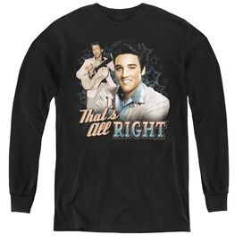 Elvis Presley Thats All Right - Youth Long Sleeve Tee