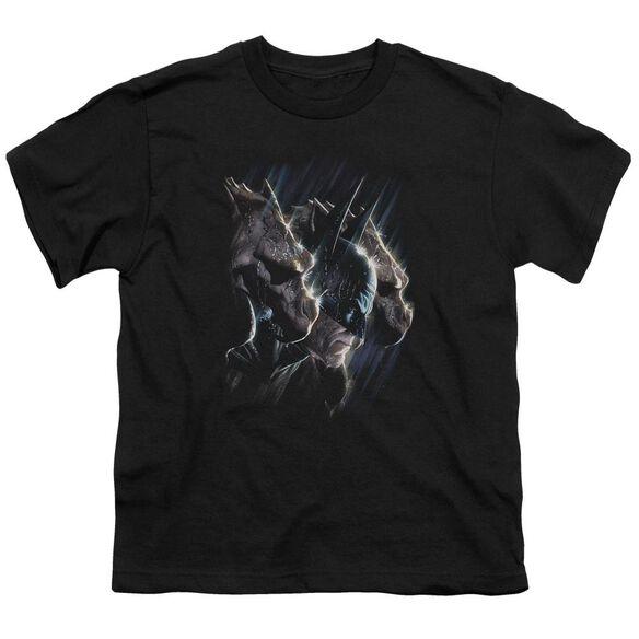 BATMAN GARGOYLES - S/S YOUTH 18/1 - BLACK T-Shirt