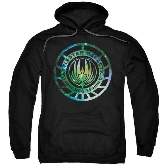 Battlestar Galactica (New) Galaxy Emblem Adult Pull Over Hoodie