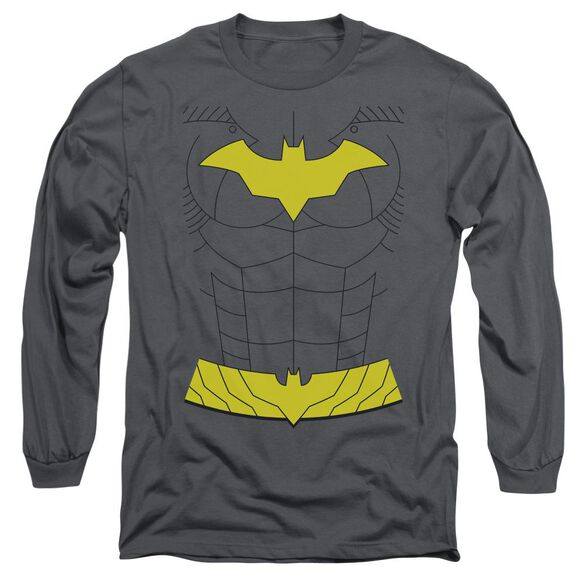 Batman New Batgirl Uniform Long Sleeve Adult T-Shirt